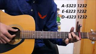 tere-naam---unplugged-guitar-cover-lesson-chords-tabs
