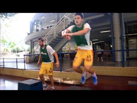 Treino do Blumenau Futsal 040518