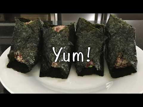 Super Easy Japanese Meals : Multigrain Rice Balls   Vegan Vegetarian  / 自製和風飯團 素食 / 自家製雑穀米おにぎり