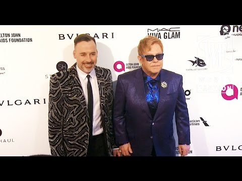 Elton John Aids Foundation Oscar Party