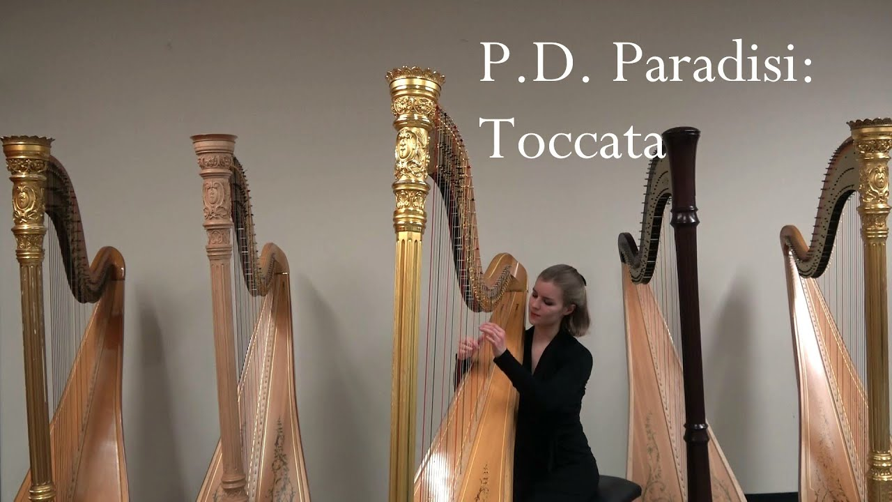 P.D. Paradisi: Toccata in A-major