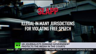 UK journalists call for government to act on 'intimidating' lawsuits
