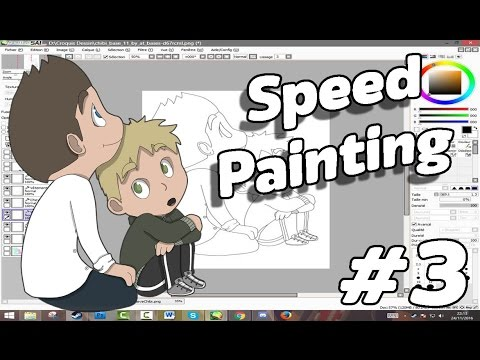 Speed Painting - [REC] Project : Mike et Steve enfant #3