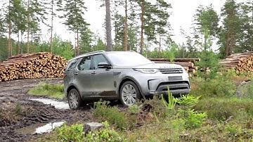 Land Rover Discovery on aito maastoauto