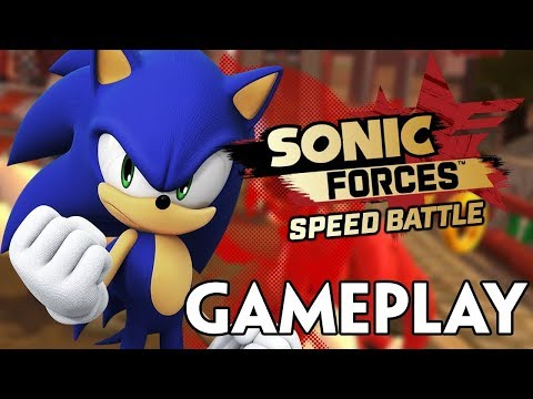 SONIC FORCES: SPEED BATTLE CHASING CHAOS GAMEPLAY! (iOS/ANDROID) Sonic Forces