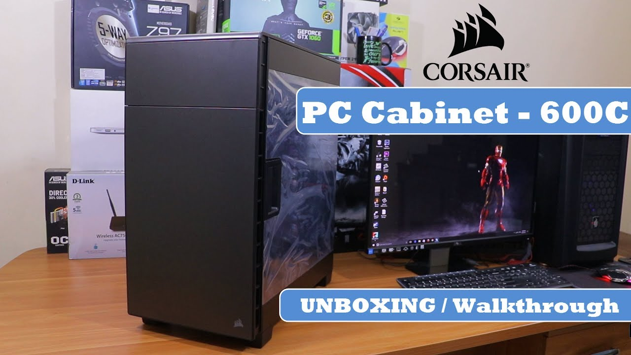 Corsair 600C Inverse ATX Full Tower   PC Cabinet | Unboxing And Review