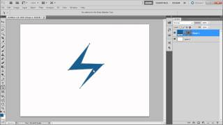 60 Second Photoshop Tutorial : Create Custom Shapes -HD-