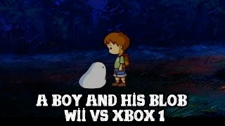 [A Boy and his Blob] Wii VS Xbox One comparison