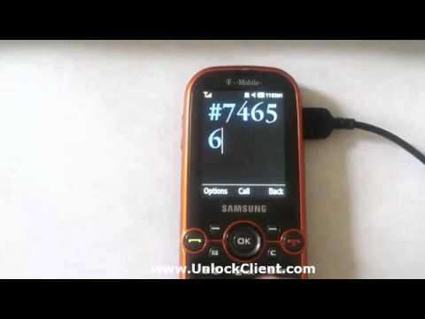 Samsung T469 Gravity II 2 instant easy permanent unlock