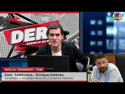 Enrique Estévez: La alternativa es Lavagna