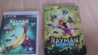 Rayman Legends Steelbook Unboxing (PS3)