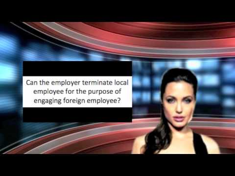 Employment Act - Employment of Foreign Employees