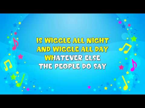 Wiggly Woo | Sing A Long | The Worm Song | Nursery Rhyme | KiddieOK