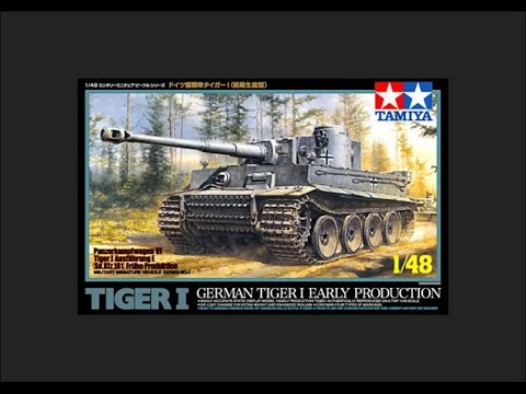Tamiya 1/48 Tiger I Early Production Scale Model Review