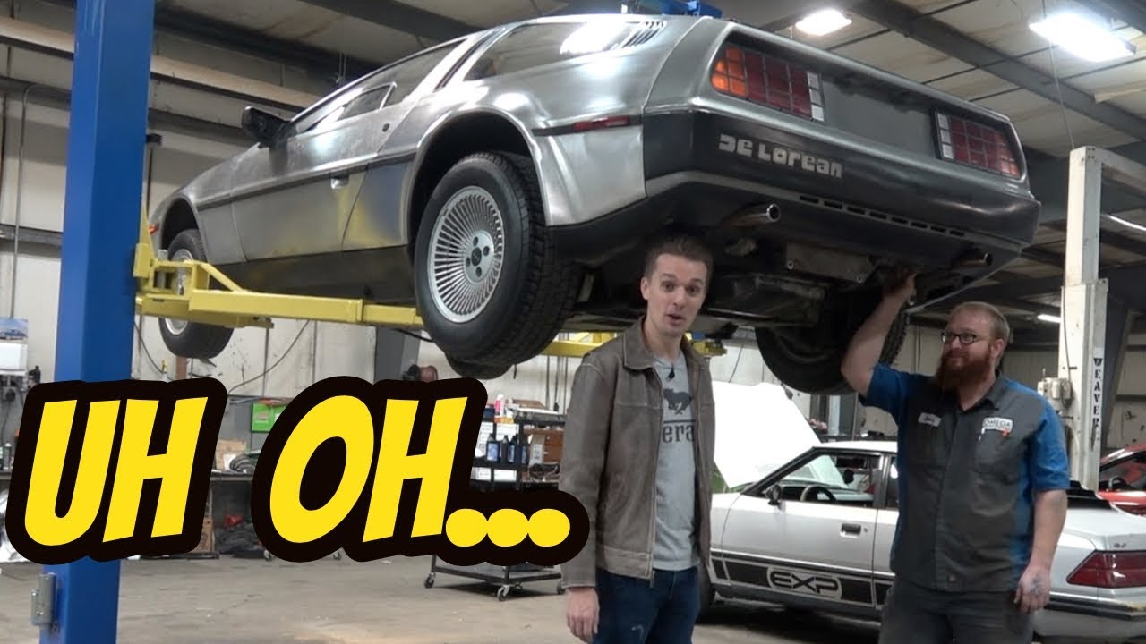 Here's Everything that's Broken on My Cheap DeLorean