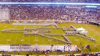 UVA Cavalier Marching Band Halftime Show (Military Appreciation Day 2015) Duke 11-21-15