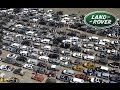 Land Rover World Record. Guinness book attempt. Most Land Rovers in a convoy