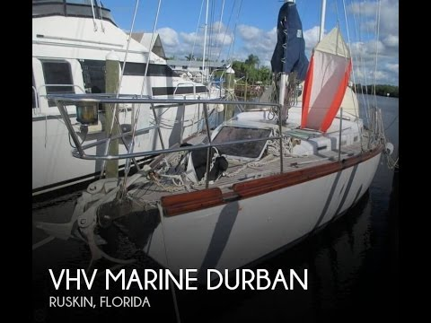[UNAVAILABLE] Used 1983 VHV Marine Durban 43 Ketch in Ruskin, Florida