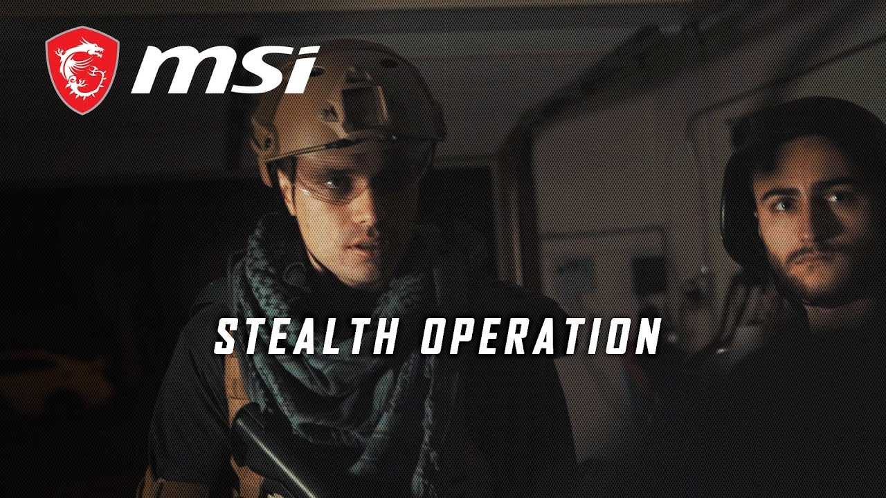 #BTRThinkTwice: Stealth Operation│MSI