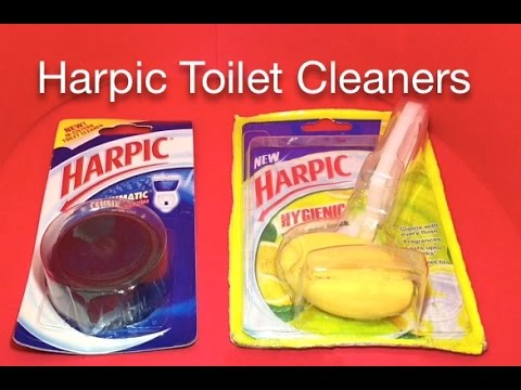 Harpic Toilet Cleaners YouTube