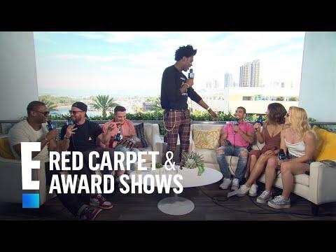 """Arrow"" Cast Plays 'True or Dare' at 2018 Comic-Con   E! Red Carpet & Award Shows"
