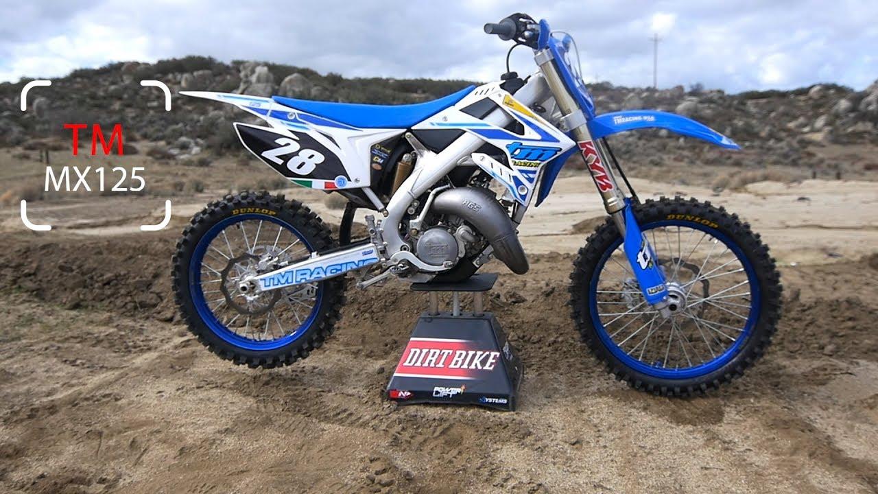 Tm Dirt Bikes >> 2018 Tm Mx 125 Dirt Bike Magazine Youtube