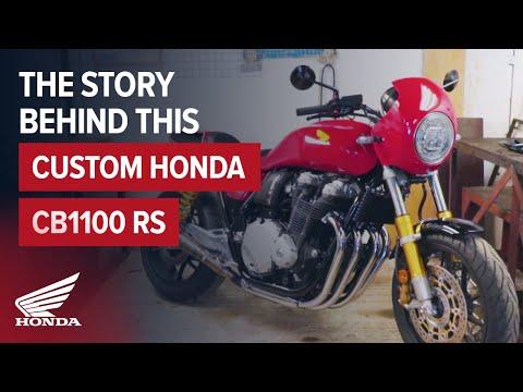 Honda announces CB1100 RS 5Four limited-edition retro