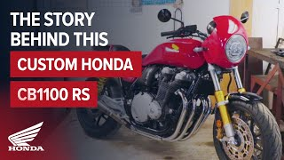 Custom CB1100 RS from 5Four Motorcycles | Honda Retro Bike with Style & Function