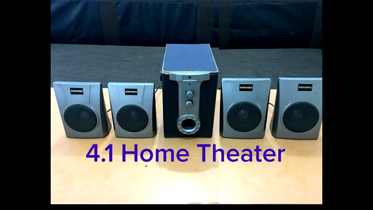 Cheap and Best 4.1 Home Theater Complete wiring in hindi / How to ...