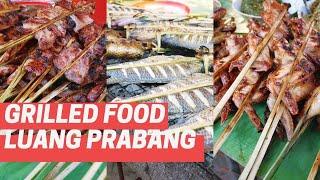 Food Stall by the  Boat Pier, Luang Prabang, Laos
