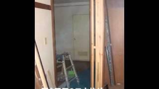 杉並区 和室から洋室 リフォーム 収納取付 フローリング thumbnail