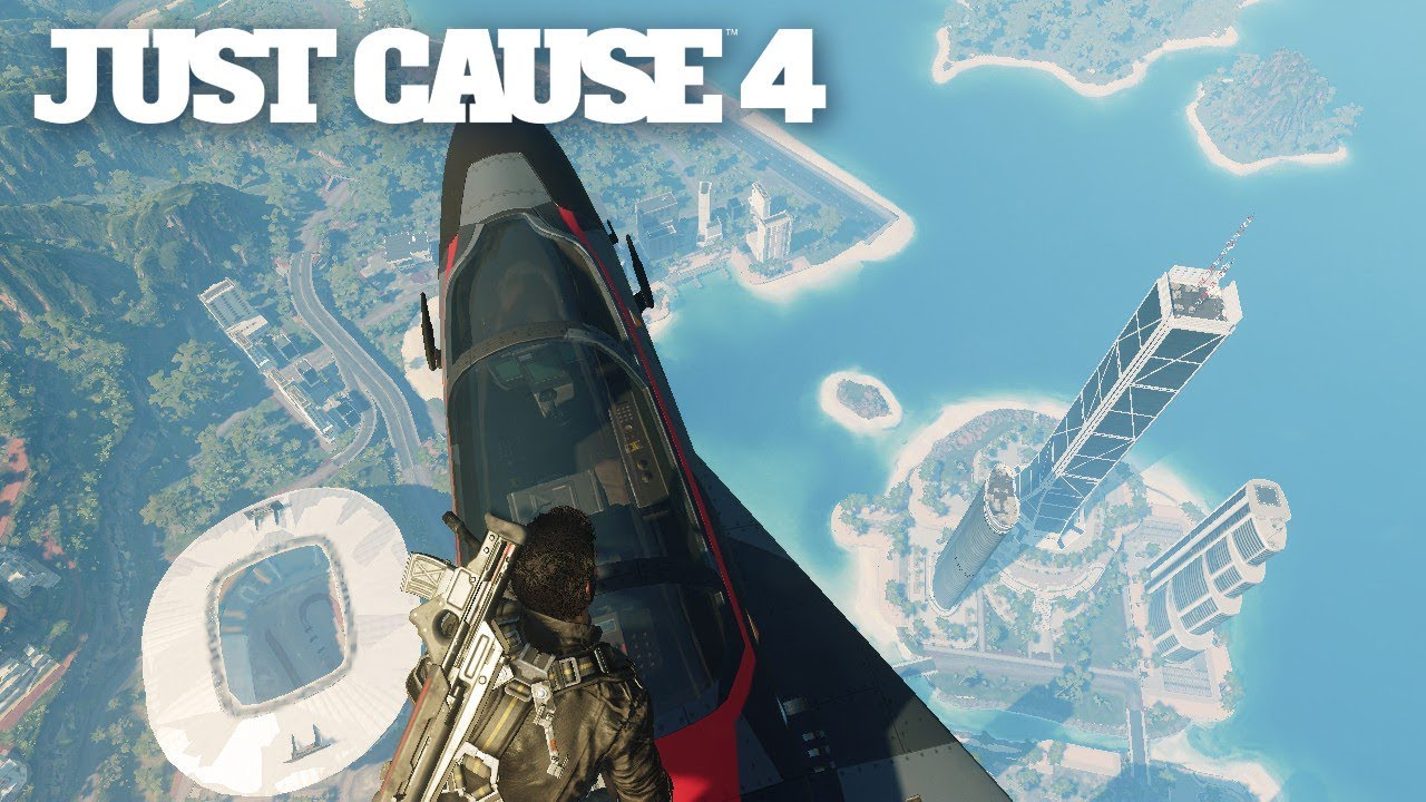 Just Cause 4 The Graphics Problem Upset Fans Youtube