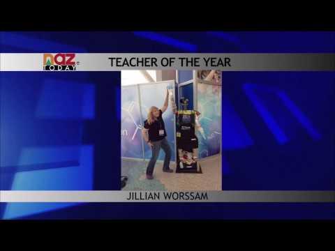 8th grade teacher at Sinagua Middle School wins Teacher of the Year