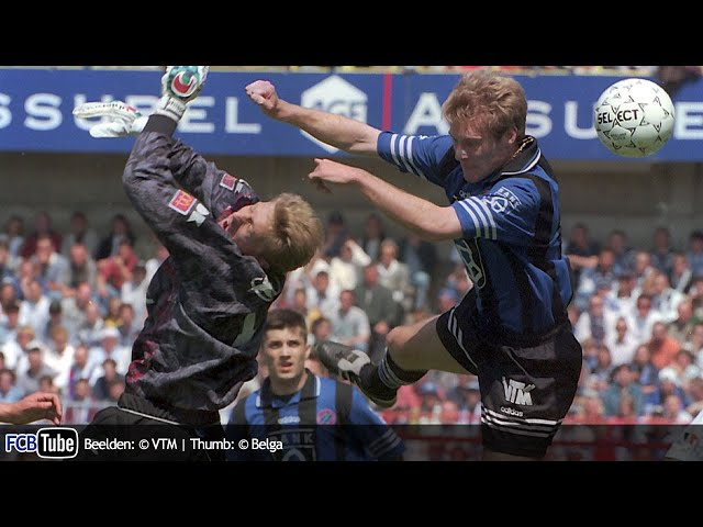 1996-1997 - Jupiler Pro League - 34. Club Brugge - AA Gent 1-0