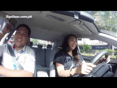 Dominique Cojuangco learns to drive with help from A 1 Driving