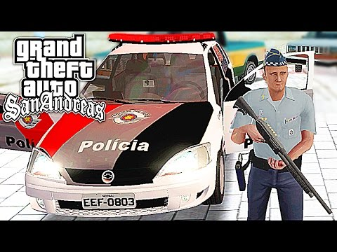 POLICIA NO GTA San Andreas Multiplayer ‹ Dudu Moura GTA ›