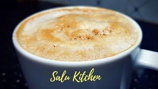 കഫേയിലെ ക്യാപ്പുച്ചിനോ ഇനി വീട്ടിലും || Creamy and Frothy, Easy Cappuccino || Salu Kitchen