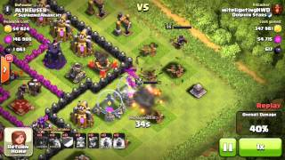 Clash of Clans- Level 30 Barbarian King!