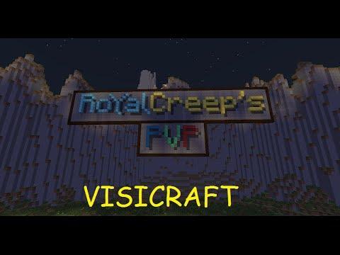Visicraft #1: Royal creep's avec Maxdelamort