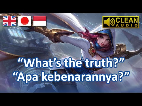 Natalia Voice & Quotes (Terjemahan) | Mobile Legends Indonesia