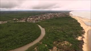 Imagem aérea de Mucurí - BA