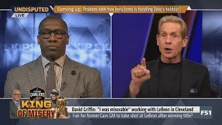 Skip Bayless says LeBron James just got stabbed in the back by a trusted friend