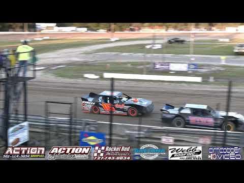 Street Stock Heat Race, North Florida Speedway, 4/20/19