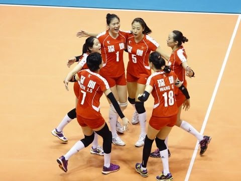 Taiwan vs China | 4 Sep 2016 | Pool D | 2016 Asian Women's Club Volleyball Championship