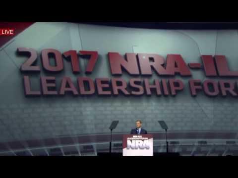 WATCH: President Donald Trump Speech at the National Rifle Association Leadership Forum 4/28/17 NRA