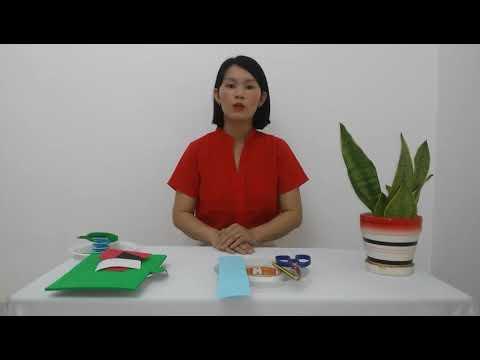 Hướng dẫn làm con ếch- Lưu Thị Thúy- Trường MN Duy Hải- TX Duy Tiên- Tỉnh Hà Nam
