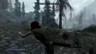 Extremely odd skyrim glitch