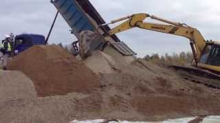 Поставка строительного песка,земляные работы.ООО