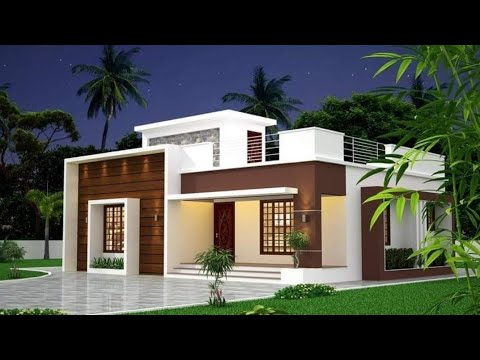 800 Sq Ft 2 Bedroom Modern Single Floor House And Plan