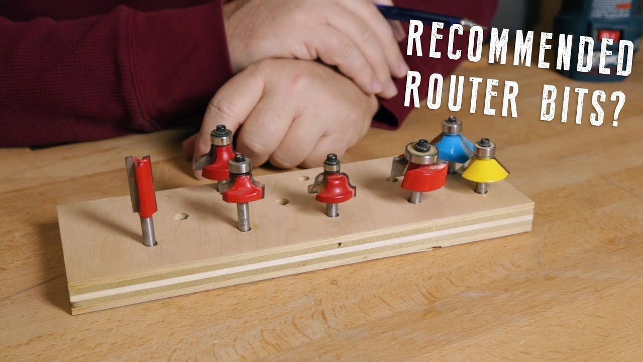 What Router Bits Should You Buy Youtube